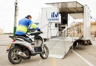 La ITV Móvil de Ciclomotores se instalará nuevamente en la localidad de Fuentes de Andalucía.