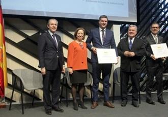 El Ayuntamiento de Fuentes de Andalucía recibe una Mención de Honor en los 'Premios Nacionales de Comercio Interior'.